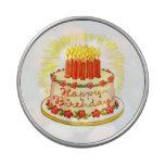 Caja del caramelo del favor de fiesta de la torta