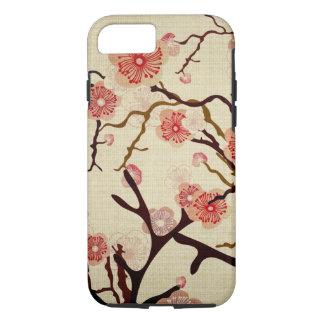 Caja del cerezo del vintage funda iPhone 7