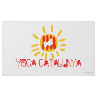 Caja del chocolate de Visca Catalunya, paloma de