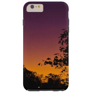 Caja del cielo nocturno iPhone/iPad del otoño por Funda Para iPhone 6 Plus Tough