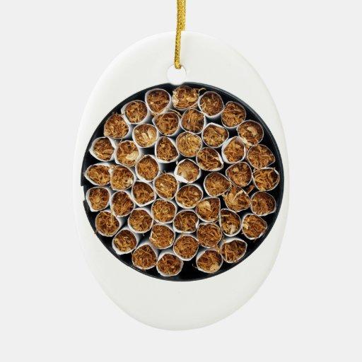 Caja del cigarrillo adornos de navidad