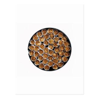 Caja del cigarrillo postal