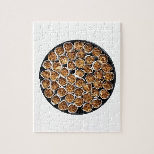 Caja del cigarrillo puzzle