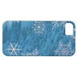 Caja del copo de nieve iPhone 5 Case-Mate carcasa
