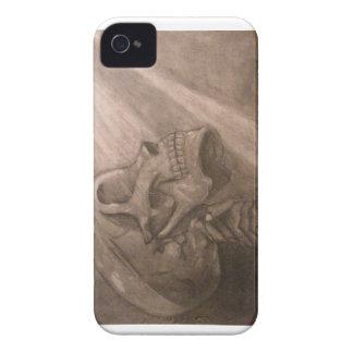 Caja del cráneo iPhone 4 Case-Mate coberturas