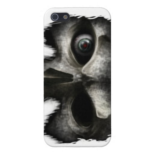 Caja del cráneo iPhone 5 carcasas