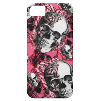 Caja del cráneo y del teléfono de Barely There I iPhone 5 Carcasas