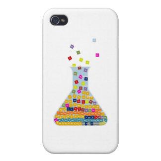 Caja del cubilete del elemento iPhone 4/4S carcasas