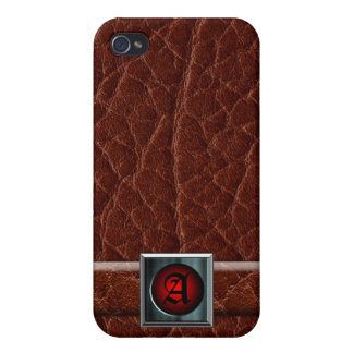 Caja del cuero iPhone4 iPhone 4/4S Carcasa