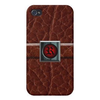 Caja del cuero iPhone4 iPhone 4/4S Funda