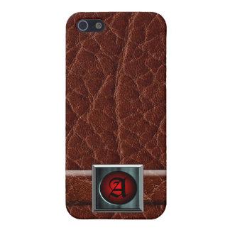 Caja del cuero iPhone4 iPhone 5 Funda