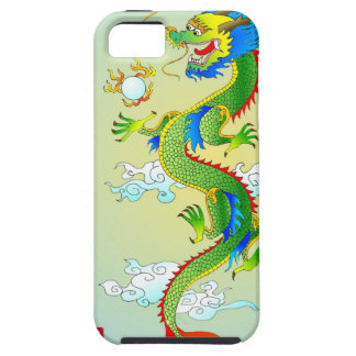 Caja del dragón iPhone5 del emperador Funda Para iPhone 5 Tough