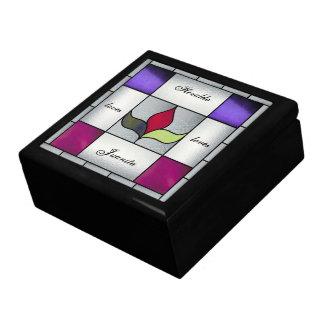 Caja del encargado del tesoro de Nouveau del arte Caja De Joyas