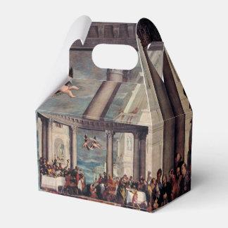 Caja del favor de la bella arte paquete de regalo