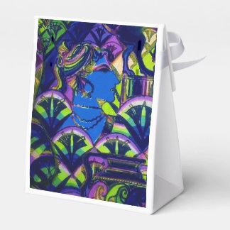 Caja del favor de la diosa del jardín cajas para regalos