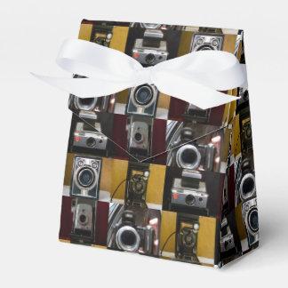 Caja del favor de la tienda del collage de la cajas para detalles de boda