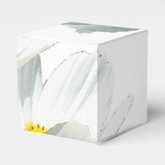 Caja del favor de las flores cajas para regalos