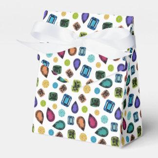 Caja del favor de las piedras preciosas cajas para regalos