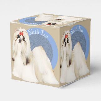Caja del favor de Shih Tzu Caja Para Regalos De Fiestas