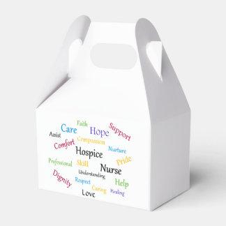 Caja del favor del aguilón de la enfermera del cajas para regalos de fiestas