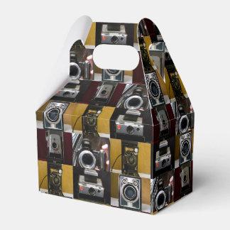 Caja del favor del aguilón del collage de la cajas para regalos