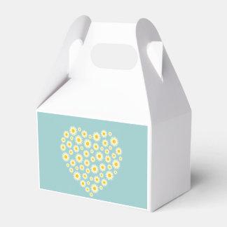 Caja del favor del aguilón del corazón de la cajas para detalles de boda