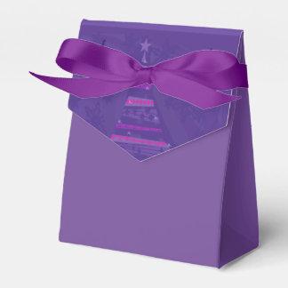 caja del favor del árbol de navidad caja para regalo de boda