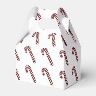 Caja del favor del bastón de caramelo caja para regalos de fiestas