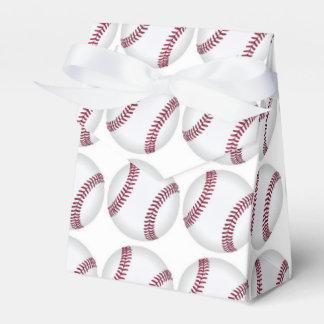 Caja del favor del béisbol cajas para regalos de fiestas