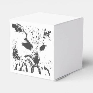 Caja del favor del búho cajas para regalos