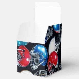Caja del favor del cubo del modelo del casco de cajas para regalos de boda