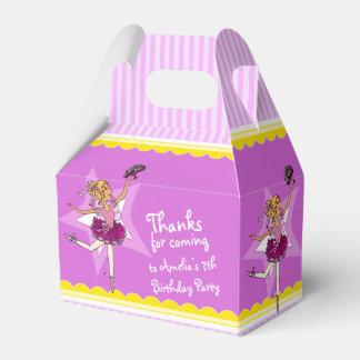 Caja del favor del cumpleaños de los chicas de la caja para regalo de boda