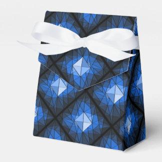 Caja del favor del diseño de la piedra preciosa cajas para regalos de fiestas