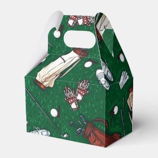 Caja del favor del modelo del golf del tiempo de cajas para regalos