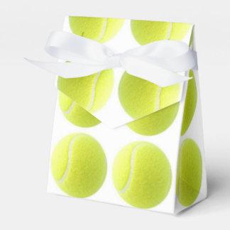 Caja del favor del tenis caja para regalo de boda