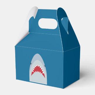 Caja del favor del tiburón caja para regalos de fiestas