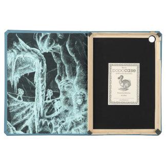 caja del folio del aire del iPad de la cueva de hi