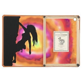 caja del folio del aire del iPad de la escalada de