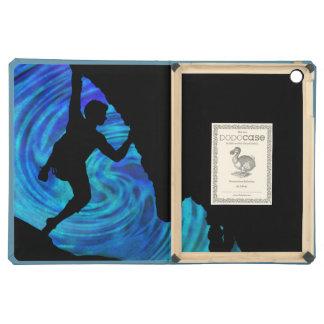 caja del folio del aire del iPad del escalador de