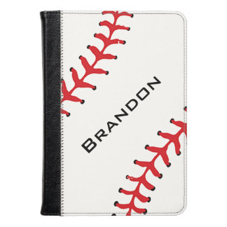 Caja del folio del diseño del béisbol
