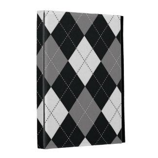 caja del folio del iPad - Argyle cuadrado - pelícu