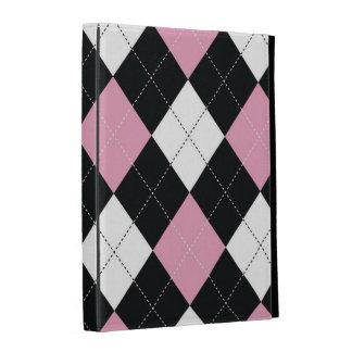 caja del folio del iPad - Argyle - RockCandy cuadr