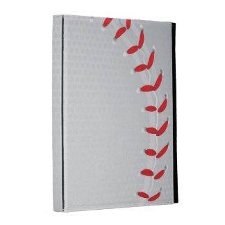 caja del folio del iPad - béisbol