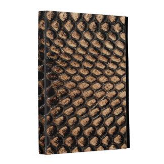 caja del folio del iPad - cobra Snakeskin