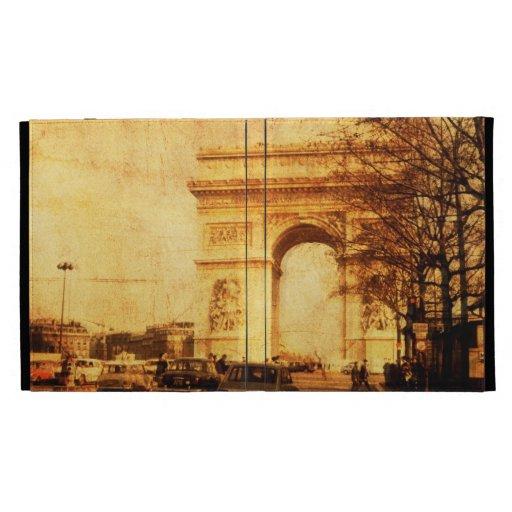 Caja del folio del iPad de Arco del Triunfo