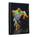 Caja del folio del iPad de Caseable de la rana 3