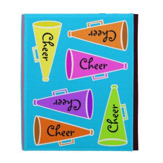 Caja del folio del iPad de la alegría
