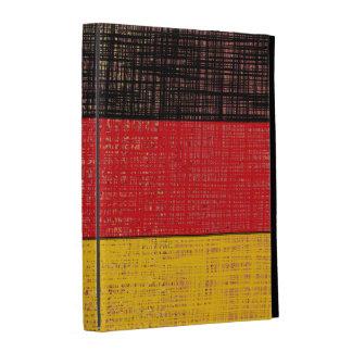 Caja del folio del iPad de la BANDERA de ALEMANIA