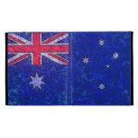 Caja del folio del iPad de la BANDERA de AUSTRALIA