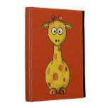 Caja del folio del iPad de la JIRAFA